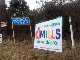 (Photo | Eric Mann/Lagniappe) Baldwin county voters approved three of four mills in a countywide referendum march 1. when one mill expires in 2018, schools will be shorted almost $4 million.