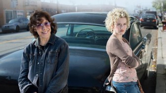 "(Photo | Depth of Field) Grandma"" starring Lily Tomlin, achieves a perfect balance in tone between comedy and drama, in which plenty of potentially melodramatic events and situations are rendered delicately, realistically, dryly, perfectly."