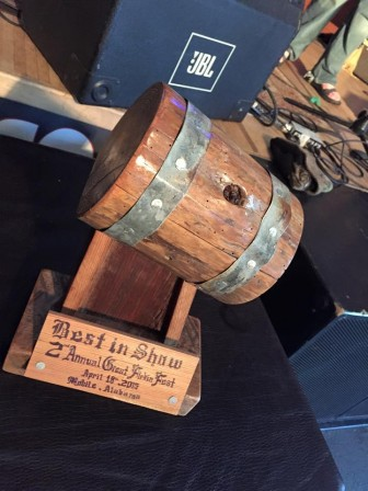 (Photo | facebook.com/MoesOriginalBBQMobileAlabama) The Great Firkin Fest returns to Moe's Original Bar B Que in downtown Mobile April 2, highlighting the creative small-batch potential of a 10.8-gallon keg.