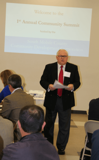 Dr. Michael Magnoli, Executive Director of the South Mobile County Community Development Cooperation.