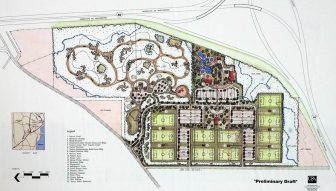Preliminary plans for a three-phase soccer and aquatic complex that could cost nearly $40 million when completed.