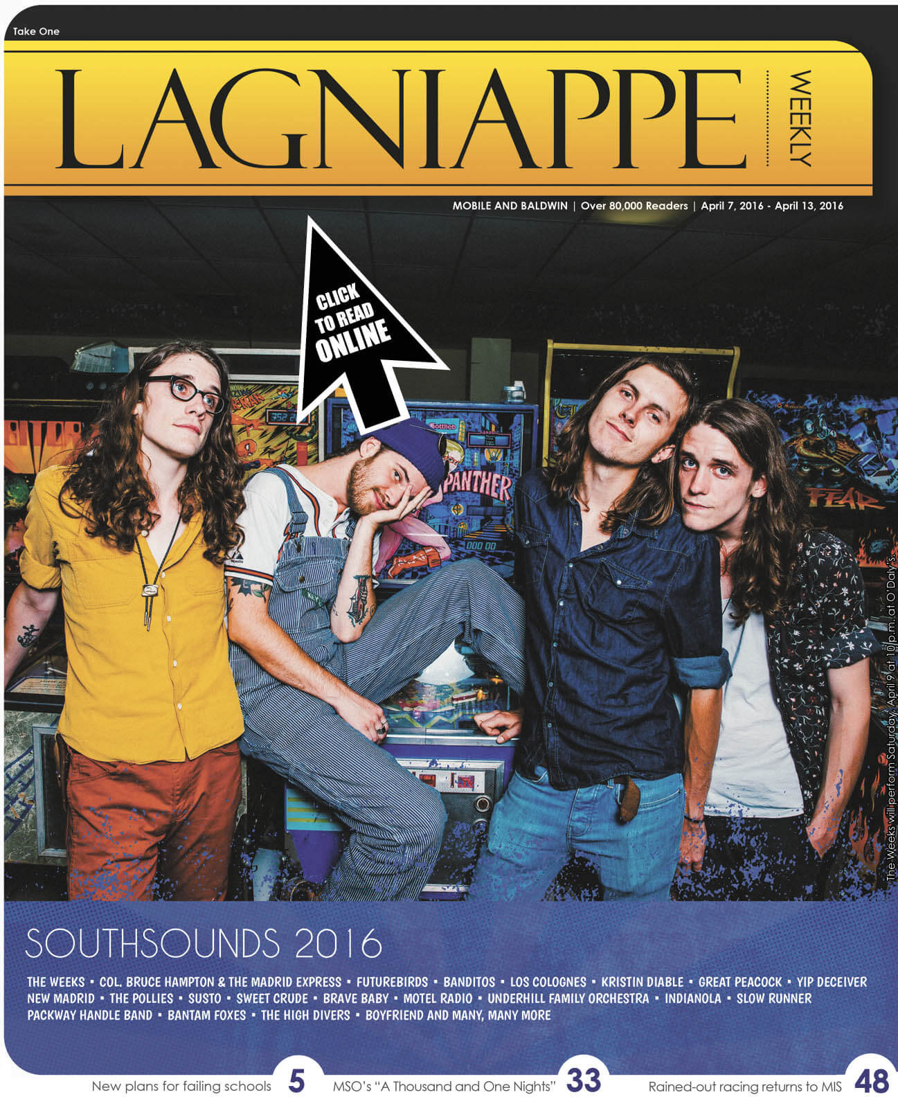 Lagniappe: April 7 -13, 2016