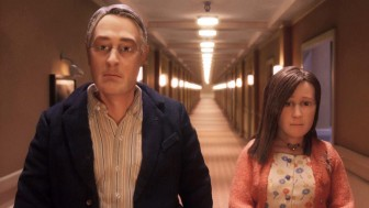 "(Photo | Starburns Industries) Charlie Kaufman's stop-motion protagonist Michael Stone breaks out of a mundane routine in ""Anomalisa,"" currently available to rent."