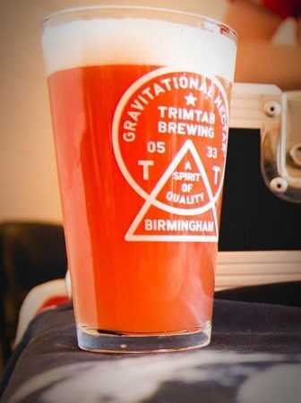 (Photo| facebook.com/CascadeBrewing) TrimTab Berliner Weisse is a tart, refreshing wheat ale brewed with raspberry and tart cherry puree.