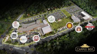 (Photo | facebook.com/campus805) Investors in Huntsville have turned a former middle school into an event  center and brewing mecca.