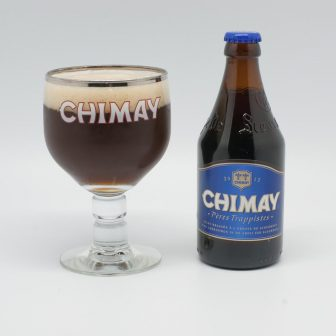 (Photo | wikimedia.org) A Chimay Grand Reserve pairs well with charcoal-grilled steak with roasted red potatoes and grilled asparagus spears.