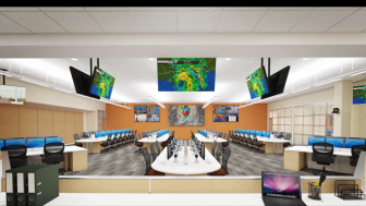 A digital rendering of the Emergency Operations Center Mobile County plans to open by 2018.