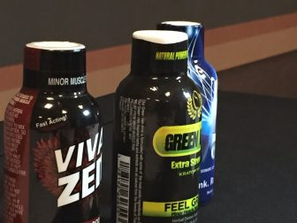 Liquid Kratom products, like the ones pictured here, have become a popular item in Alabama's gas stations.
