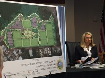 On May 23, Mobile County Commissioner Connie Hudson unveiled a plan to finance the first half a soccer complex she has long pushed for.
