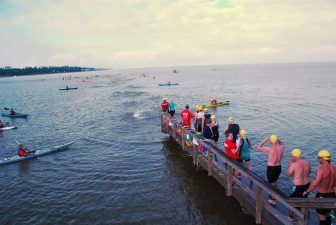 (Photo | Courtesy of Mobile Baykeeper) The Publix Grandman Triathlon is an athletic ride-along program created for children, teens, adults and veterans with disabilities who would normally not be able to participate in such events. The 12th annual event takes place June 4 in Fairhope.