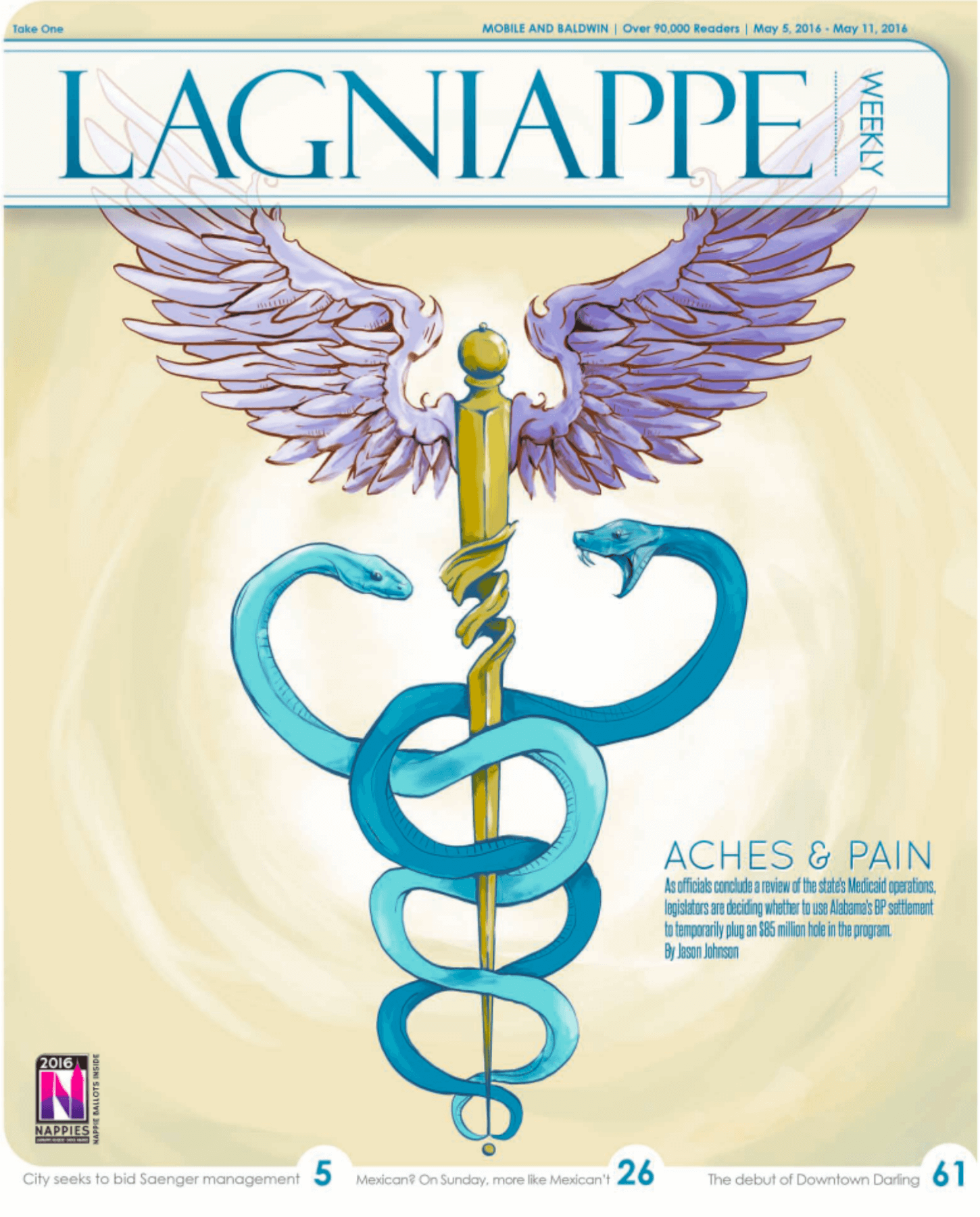 Lagniappe: May 5 – May 11, 2016