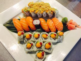 (Photo | facebook.com/riceasiangrillandsushibar) Thai barbecue chicken, Asian fusion dishes and sushi highlight the menu at Rice Asian Grill on Government Boulevard in West Mobile.