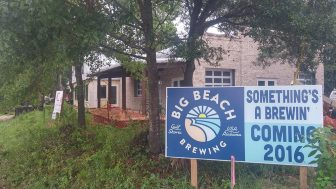 (Photo | facebook.com) Big Beach brewing will be in the heart of Gulf Shores' waterway village, near tacky jacks and acme oyster house.