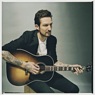 "(Photo courtesy of Universal Music Group) Frank Turner, former vocalist of post-hardcore band Million Dead, has released six albums in a primarily acoustic-based solo career following the band's split in 2005. He is touring in support of his latest, ""Positive Songs for Negative People."""