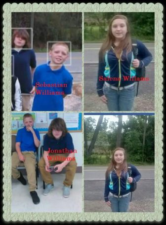 The Baldwin County Sheriff's Office is trying to locate three children believed to have run away from their Perdido home. The children are Jonathan Williams, 15, Sebastian Williams, 12, and Salena Williams, 15.