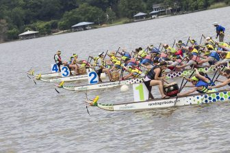 (Photo | Courtesy of the Fuse Project) With a new venue at battleship memorial park, the fuse project has recruited a record 72 teams to participate in this year's dragon boat races, scheduled for June 11.