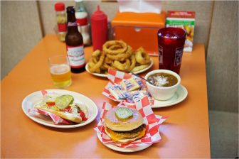 (Photos | Daniel Anderson/Lagniappe) It's famous for the hot dogs, but the Dew Drop Inn also features some of the city's best seafood, burgers, fried pork chops and southern sides.