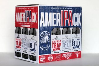 (Photo | Back Forty Beer Company) Back FOrty's AmerIPAck features the brewery's Snapper Biscuit White IPA, Rattle Trap Red IPA and Freckle Belly IPA.