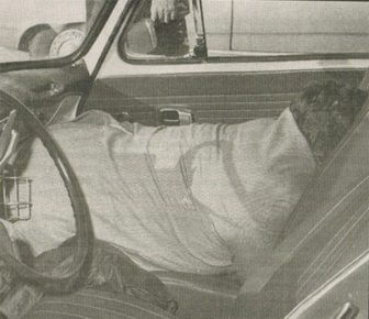 (Photo | Courtesy of Wilbur Willams) Arch McKay's body was found face down in the passenger seat of his volkswagen.