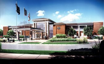 (Photo |U.S. Department of Veterans Affairs) A $23 million VA hospital in Tillman's Corner is expected to open in 2018.