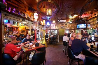 (Photos | Daniel Anderson/Lagniappe) Manci's has been a constant in a changing Olde Towne Daphne. New owners have adopted a new menu, along with some familiar items from Callaghan's in Mobile.