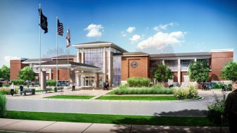 This is a rendering of the new planned VA clinic for Mobile.