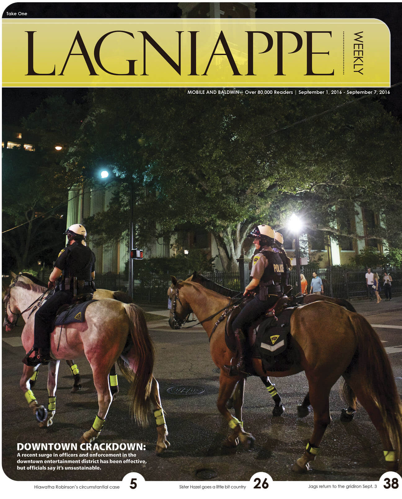 Lagniappe: September 1 – September 7, 2016