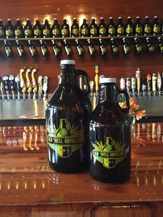 (Photo | Facebook) IN ADDITION TO HUNDREDS OF BOTTLED BEERS TO CHOOSE FROM, OLD SHELL GROWLERS HAS MORE THAN 40 ON TAP.