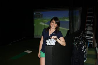(Photos | J. Mark Bryant/Lagniappe) At Fairways Indoor Golf Club in Spanish Fort, simulators allow players to choose from 87 different courses from around the world.