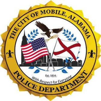 The official seal of the Mobile Police Department.