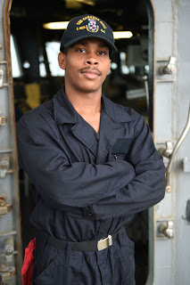 Mobile native Javess Spencer serves aboard the USS Gunston Hall