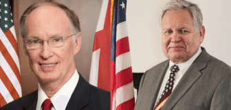 Alabama Governor Robert Bentley, left, and State Auditor Jim Zeigler, right.