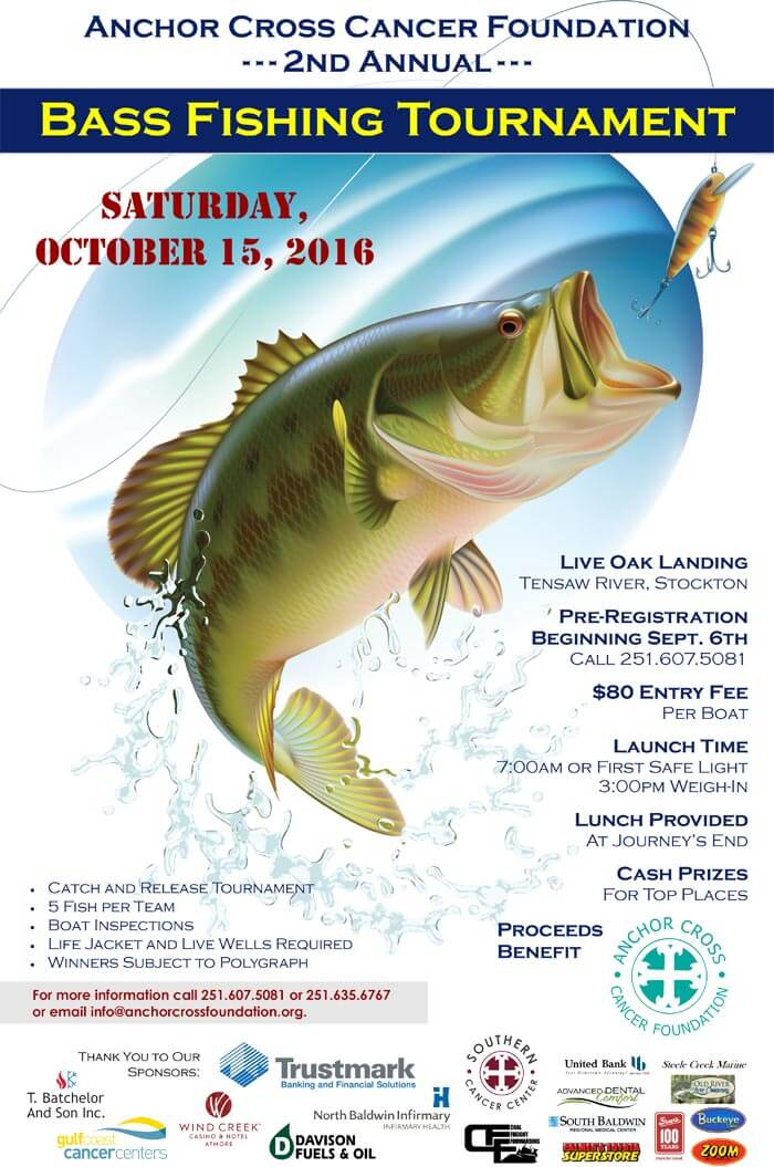 Registration open for bass fishing tournament benefitting cancer initiatives