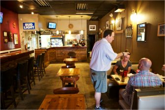 (Photo | Daniel Anderson/Lagniappe) Wood-fired pizza, soups and salads are featured at Cortlandt's Pub in Spring Hill.