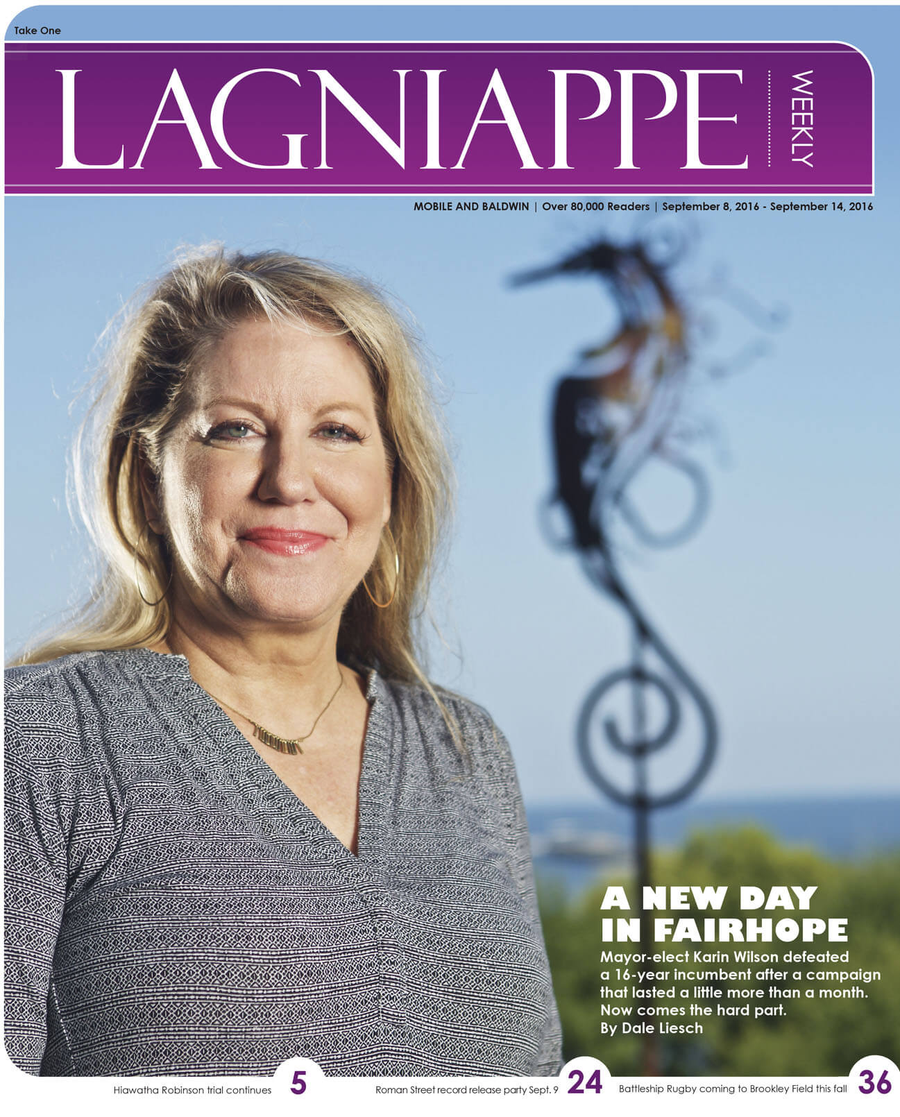 Lagniappe: September 8, 2016 – September 14, 2016