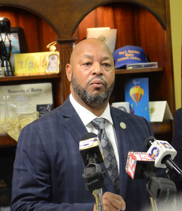 (Lagniappe) Prichard Mayor Troy Ephriam said termination proceeding have begun on two officers involved in a sick out.