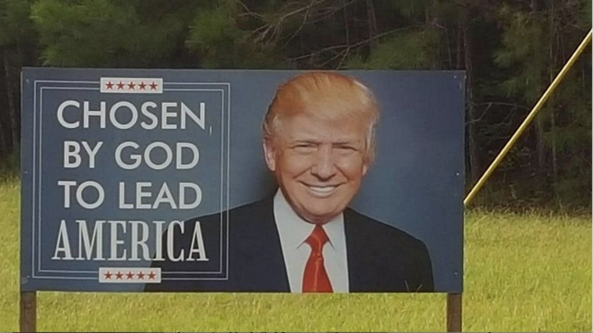 (Photo | Boozie Spy) One of Boozie's spies spotted this on the way to Dauphin island. Pretty big endorsement for Trump!