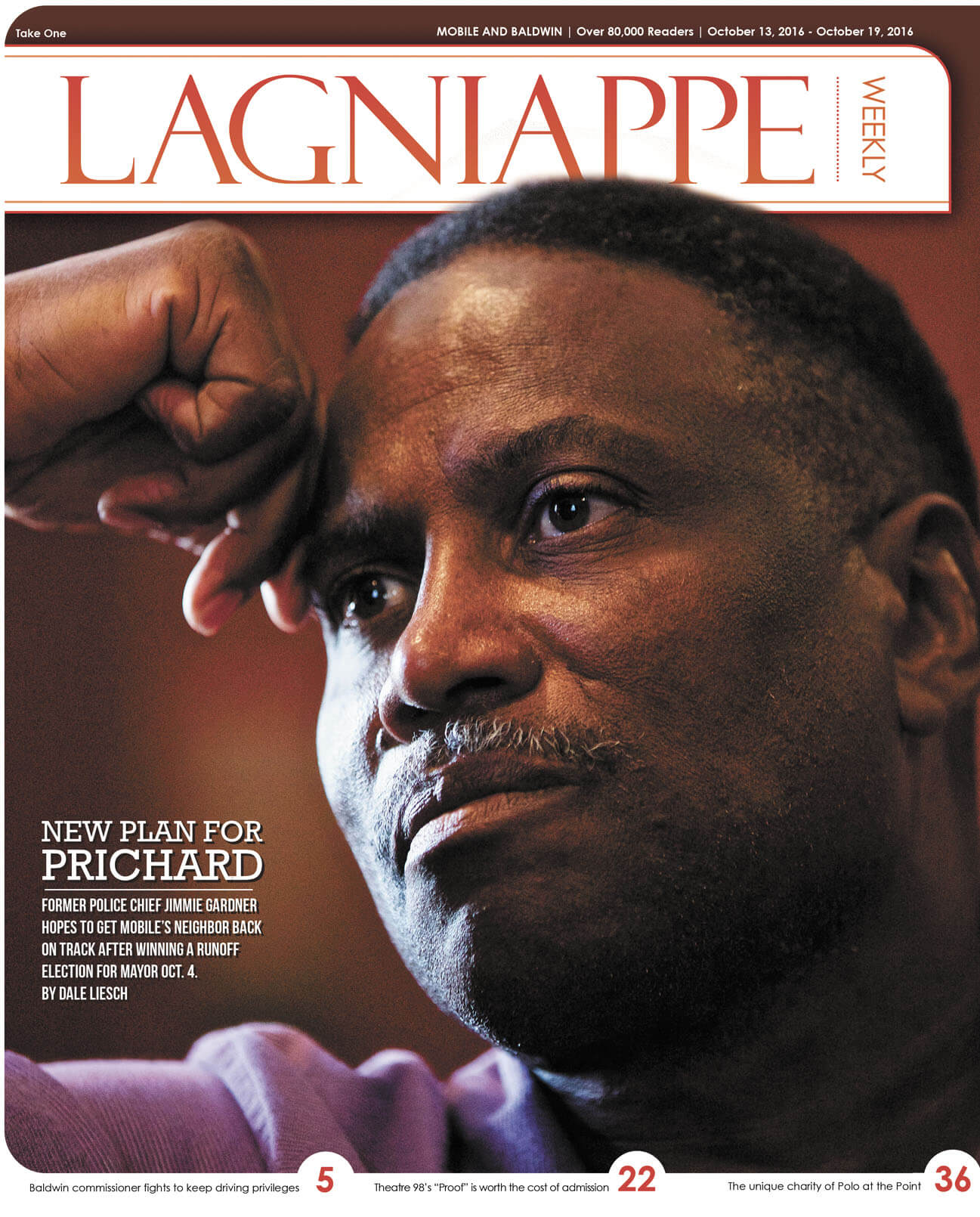 Obstacles await Prichard mayor-elect Jimmie Gardner