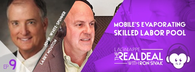 Real Deal Podcast Episode 9: Mobile's evaporating skilled labor pool