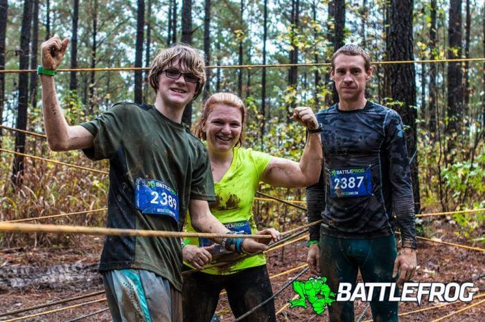 (Photo | Courtesy of Charles Montgomery) The Montgomerys of Baldwin County have made obstacle course racing a family affair. The Spartan Race returns to Saraland  for a second year Nov. 19.