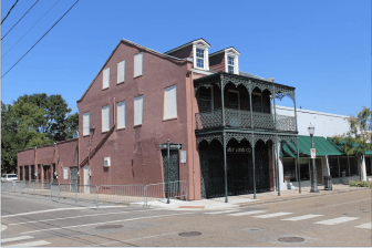 (Photo | Lagniappe) The Key Loan building at 522 Dauphin St. is targeted for redevelopment by owners interested in creating a musicians' village to complement the nearby Dauphin Street Sound recording studio.