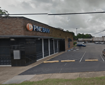 Police in Mobile found two people shot to death inside a vehicle in PNC Bank parking lot on St. Stephens Road Oct. 7. (Google)