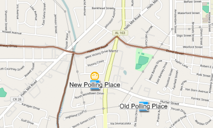 Polling place changed in DIP
