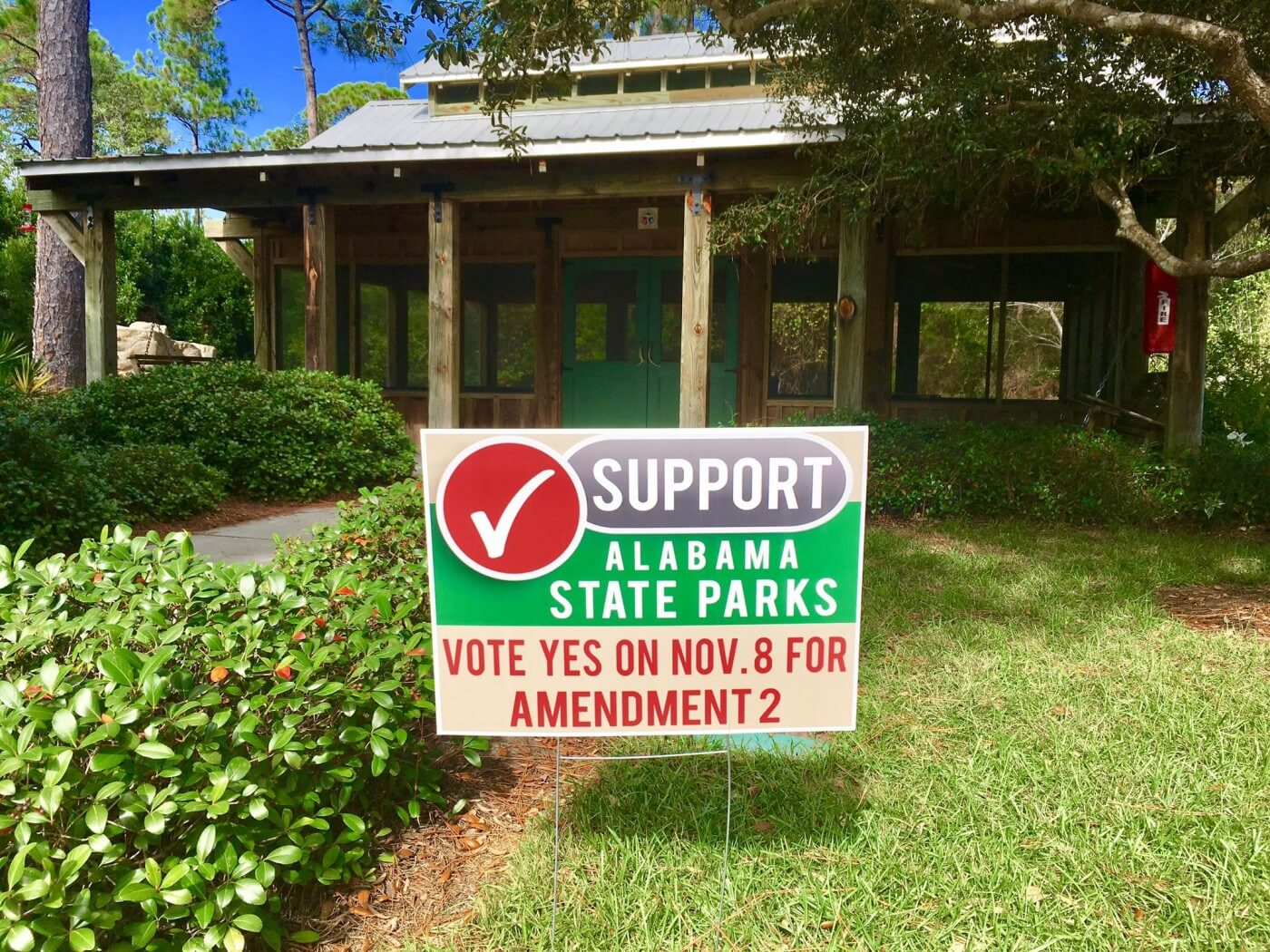 (facebook.com/pg/GulfStatePark) Park and tourism officials are urging voters to pass a referendum to prohibit revenue generated by state parks from being diverted to the General Fund.