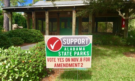 Before election, officials make one last plea for state parks
