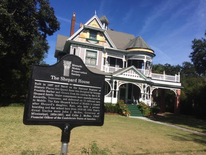 Lagniappe | The Kate Shepard House on Monterey Place in Mobile was built in 1897.