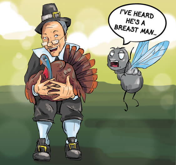 (Cartoon/Laura Rasmussen) Gov. Robert Bentley will gobble up a mouthful of white meat this thanksgiving.