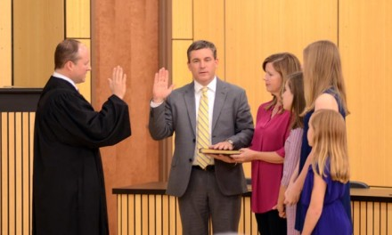 Daphne elected officials sworn in