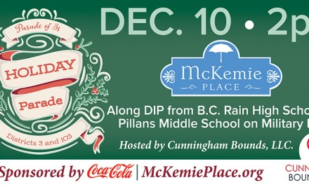 McKemie Place to benefit from holiday 'Parade of 3s'