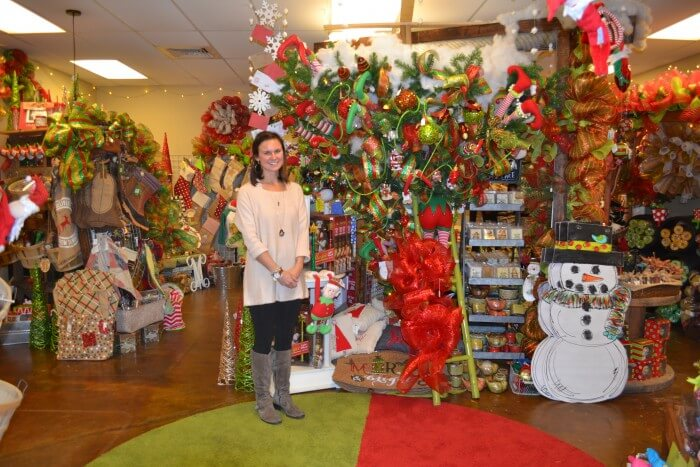 (Photos | Jo Anne McKnight) Maggie B's owner Robin Morse will be featured as part of the Semmes Christmas Tour Dec. 10.